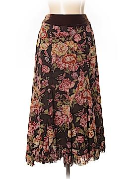 CAbi Silk Skirt Size S