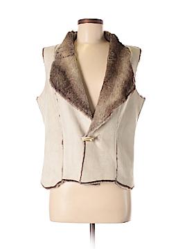 Coldwater Creek Faux Fur Vest Size 6 - 8