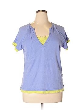 Avon Short Sleeve Henley Size 1X (Plus)