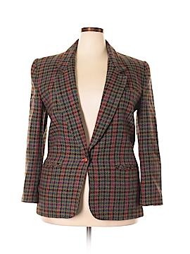 Giorgio Sant'Angelo Wool Blazer Size 16