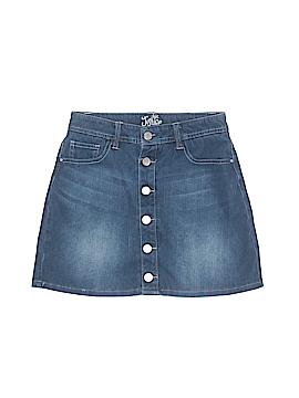 Justice Denim Skirt Size 12