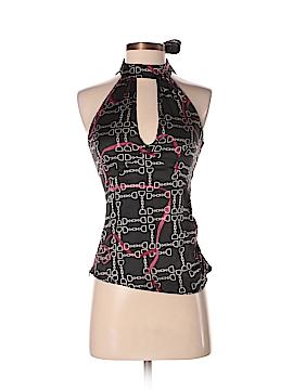 Karen Millen Sleeveless Silk Top Size Lg (4)