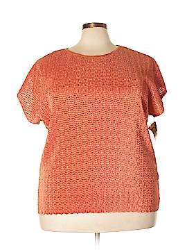 TanJay Short Sleeve Top Size 3X (Plus)
