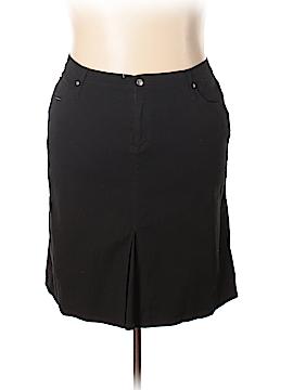 Jamie Nicole Collection Denim Skirt Size 22 (Plus)