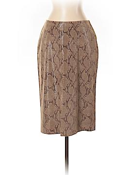 Club Monaco Faux Leather Skirt Size 4