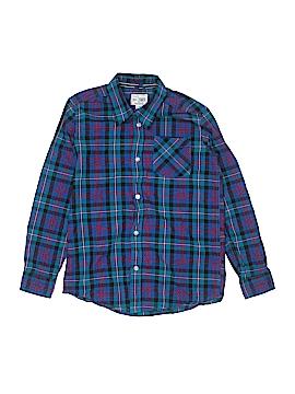 The Children's Place Long Sleeve Button-Down Shirt Size L (Kids)