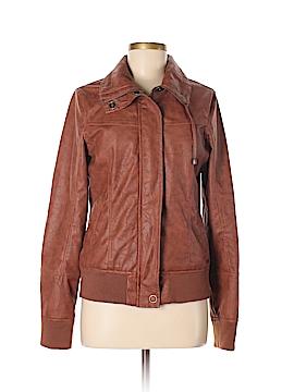 Rip Curl Faux Leather Jacket Size L