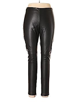 MNG Suit Faux Leather Pants Size 12
