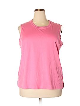 Alia Sleeveless T-Shirt Size 2X (Plus)