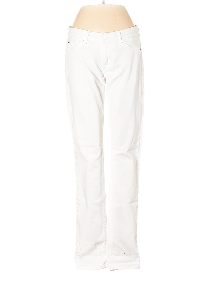 c870f24d3443 Hudson Jeans Solid White Jeans 26 Waist - 92% off