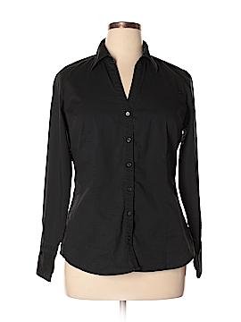Express Design Studio Long Sleeve Button-Down Shirt Size XL
