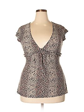 Ambrielle Short Sleeve Top Size 2X (Plus)