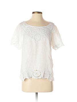 Ann Marino Short Sleeve Blouse Size M