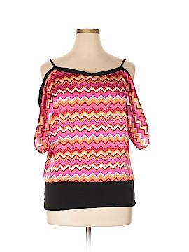 Trixxi Short Sleeve Blouse Size XL