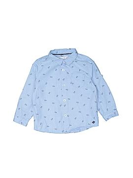 Zara Baby Short Sleeve Button-Down Shirt Size 12-18 mo