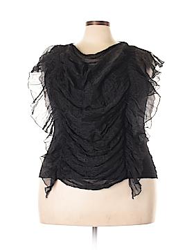 Isabella Rodriguez Short Sleeve Blouse Size 2X (Plus)