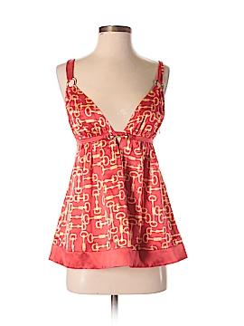 Bebe Sleeveless Silk Top Size S