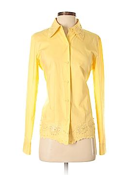 Dana Buchman Long Sleeve Button-Down Shirt Size 2