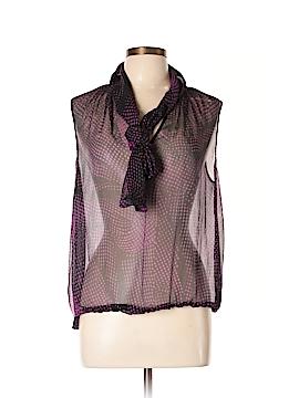 Yansi Fugel Sleeveless Silk Top Size 12