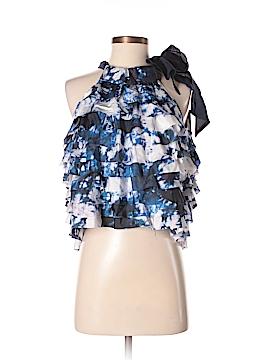Cynthia Rowley for T.J. Maxx Sleeveless Silk Top Size XS