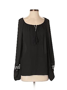 Tahari Long Sleeve Blouse Size S (Petite)