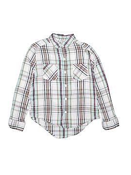Mudd Long Sleeve Button-Down Shirt Size 10