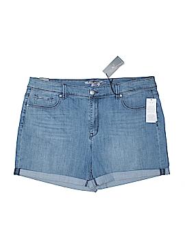 Melissa McCarthy Seven7 Denim Shorts Size 22 (Plus)