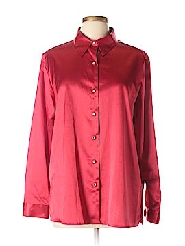 Sag Harbor Long Sleeve Blouse Size 16