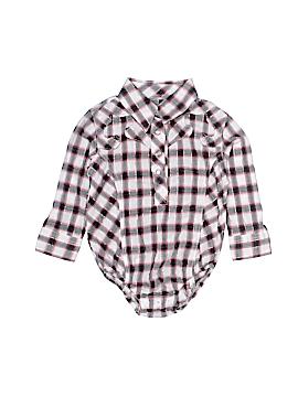 Wrangler Jeans Co Long Sleeve Onesie Size 12 mo