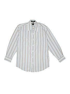 Ike Behar Long Sleeve Button-Down Shirt Size 10