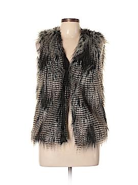 Divided by H&M Faux Fur Vest Size 10