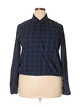 Madewell Long Sleeve Blouse Size XL