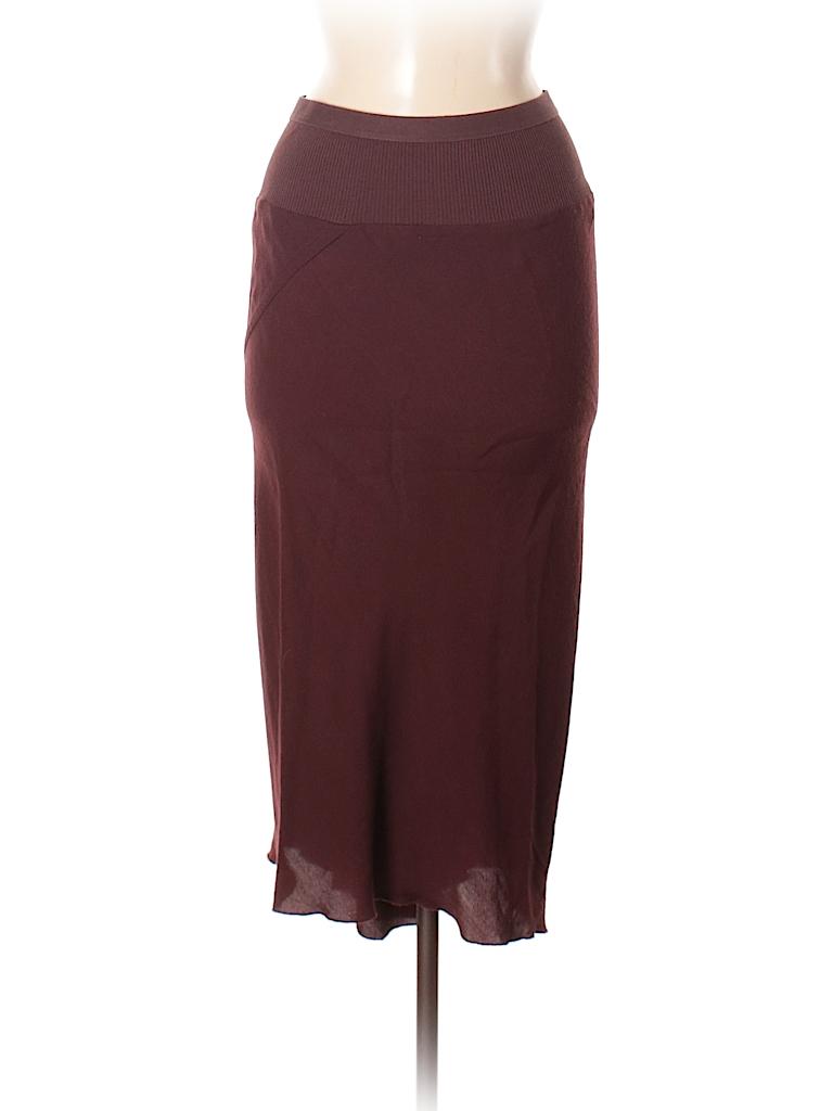 Rick Owens Women Wool Skirt Size 42 (IT)