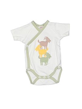 Zutano Short Sleeve Onesie Newborn