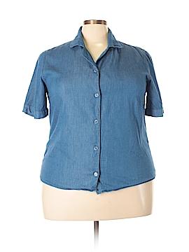 Koret Short Sleeve Button-Down Shirt Size XL