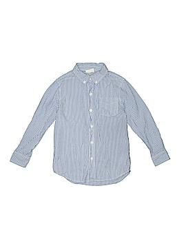 Crazy 8 Long Sleeve Button-Down Shirt Size S (Kids)