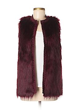 Xhilaration Faux Fur Vest Size M