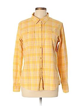 Cabela's Long Sleeve Button-Down Shirt Size L