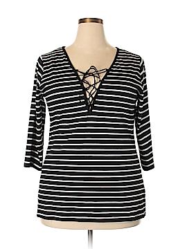 City Chic 3/4 Sleeve Blouse Size 18 (M) (Plus)