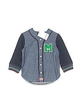 Next Long Sleeve Button-Down Shirt Size 9-12 mo