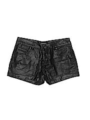 Xhilaration Women Faux Leather Shorts Size 1