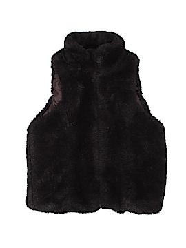 Me Jane Faux Fur Vest Size 5