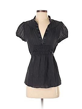 Marc Jacobs Short Sleeve Silk Top Size 2