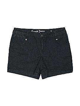 Avenue Jeans Denim Shorts Size 14