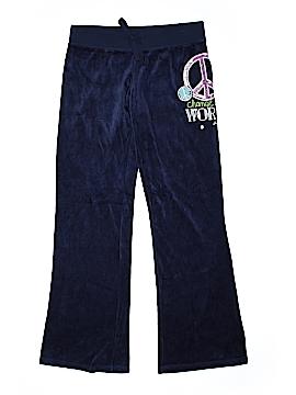 Justice Velour Pants Size 14