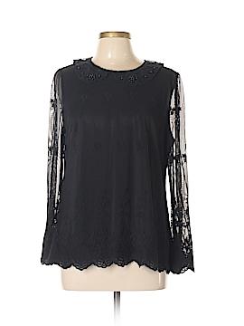 Madison Long Sleeve Blouse Size L