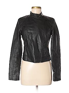Delia's Faux Leather Jacket Size M