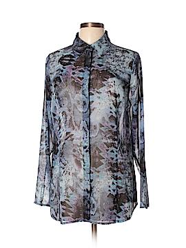 CAbi Long Sleeve Blouse Size L