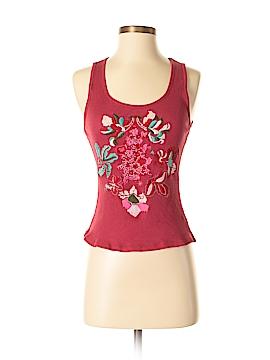 Sunny Leigh Sleeveless Silk Top Size S