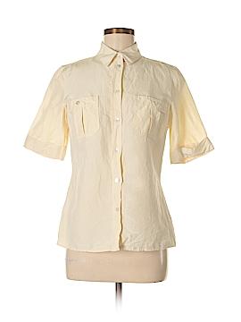 Michael Kors Short Sleeve Button-Down Shirt Size 8